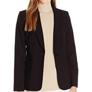 Calvin Klein Fitted Black Business Blazer Jacket
